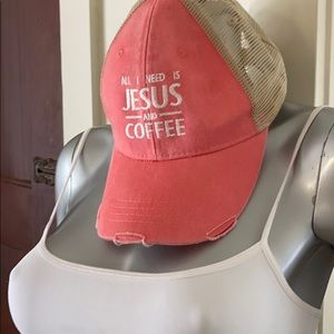 """""""Jesus and Coffee"""" hat💖"""